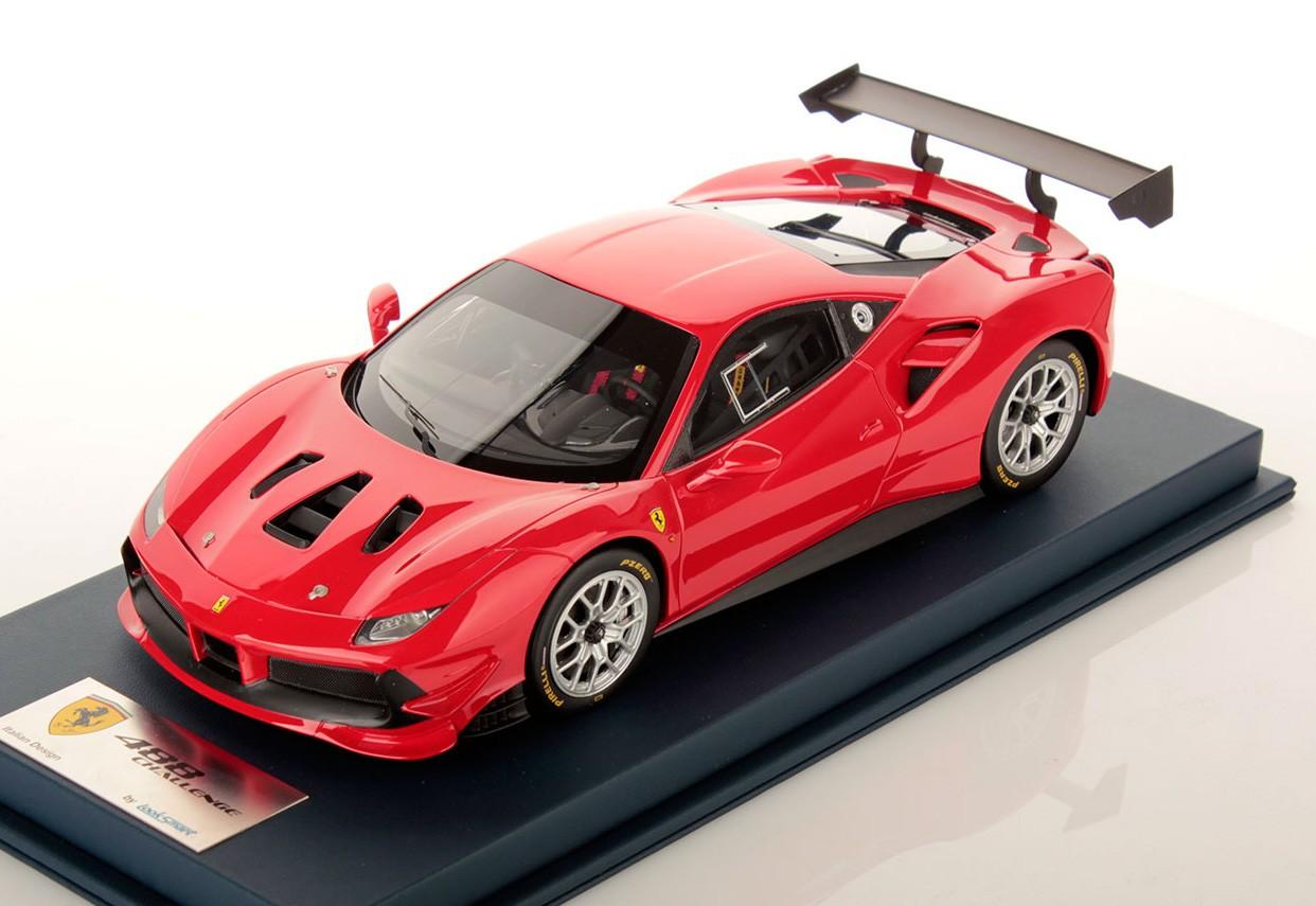 Ferrari 488 Challenge Rosso Corsa Looksmart Ls18rc010b Miniatures