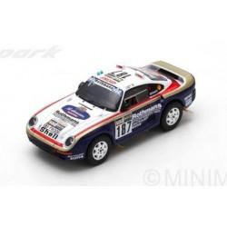 Porsche 959 187 Paris Dakar 1986 Kussmaul Unger Spark S7816