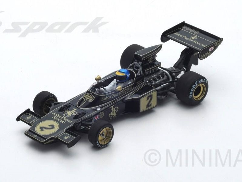 Lotus 72E 2 F1 Winner France 1973 Ronnie Peterson Spark S7128