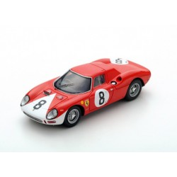 Ferrari 250 LM 8 12 Heures de Reims 1964 Surtees Bandini Looksmart LSRC26