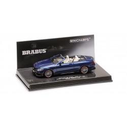 Brabus 850 AMG S63 Cabriolet 2016 Bleue Minichamps 437034231