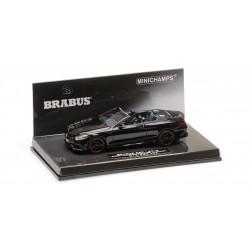 Brabus 850 AMG S63 Cabriolet 2016 Noire Minichamps 437034230