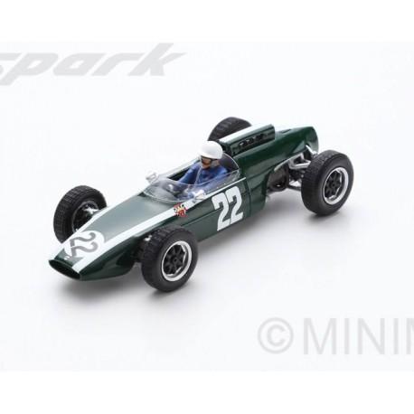 Cooper T60 22 F1 Allemagne 1963 Mario De Araujo Cabral Spark S5292