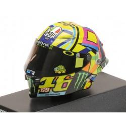Casque 1/8 AGV Valentino Rossi Moto GP 2017 Tribute Nieto Hayden Minichamps 399170056