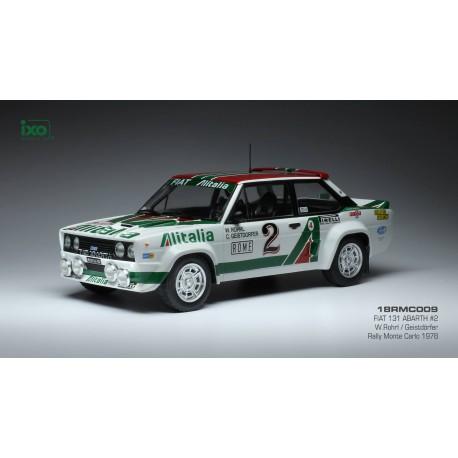 Fiat 131 Abarth 2 Rallye Monte Carlo 1978 Röhrl Geistdörfer IXO 18RMC009