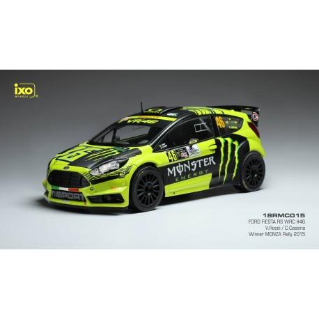 Ford Fiesta RS WRC 46 Monza Rally 2015 Valentino Rossi IXO 18RMC015