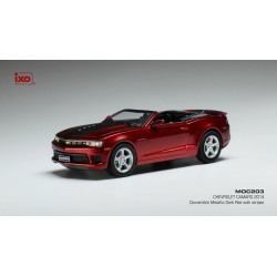 Chevrolet Camaro Convertible Metallic Dark Red 2014 IXO MOC203