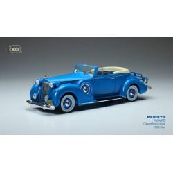 Packard Victoria Convertible Blue 1938 IXO MUS075