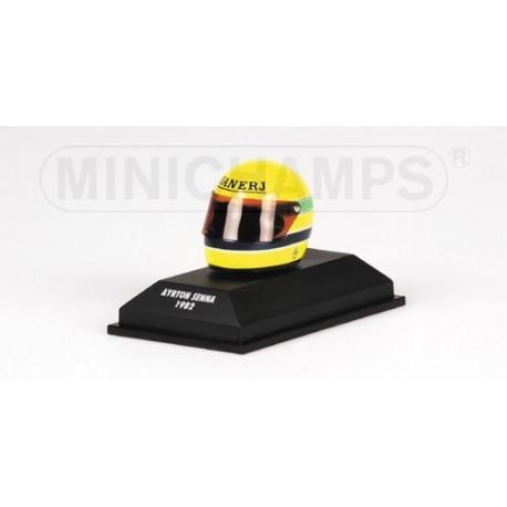 Casque Ayrton Senna 1982 1/8 Minichamps 540381216
