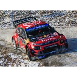 Citroen C3 WRC 1 Winner Rallye Monte Carlo 2019 Ogier Ingrassia IXO RAM699