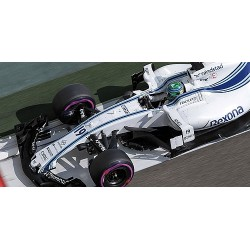 Williams Mercedes FW40 19 F1 Abu Dhabi 2017 Felipe Massa Minichamps 117172019