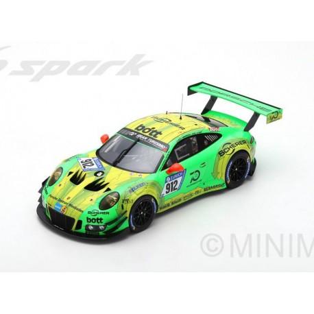 Porsche 911 GT3 912 Winner 24 Heures du Nurburgring 2018 Spark 18SG027