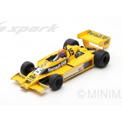 Renault RS01 15 F1 USA 1978 Jean-Pierre Jabouille Spark 18S371