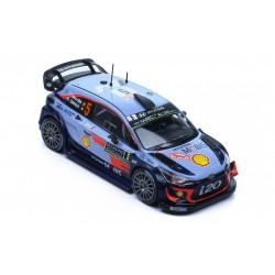 Hyundai i20 WRC 5 Rallye Monte Carlo 2018 Neuville Gilsoul IXO RAM663