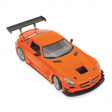 Mercedes Benz SLS AMG GT3 Street Version 2011 Orange Minichamps 151113105