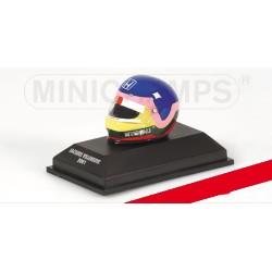 Casque Helmet 1/8 Jacques Villeneuve F1 2001 Minichamps 301010010