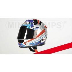 Casque Helmet 1/2 Ruben Xaus Superbike 2001 Minichamps 326011211