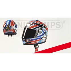 Casque Helmet 1/2 Troy Bayliss Champion Superbike 2001 Minichamps 326011221