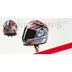 Casque Helmet 1/2 Troy Bayliss Champion Superbike 2001 Minichamps 326011221
