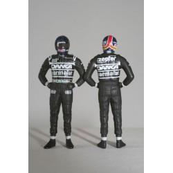 Figurine Pedro Diniz 1/43 F1 1998 Minichamps 343980016
