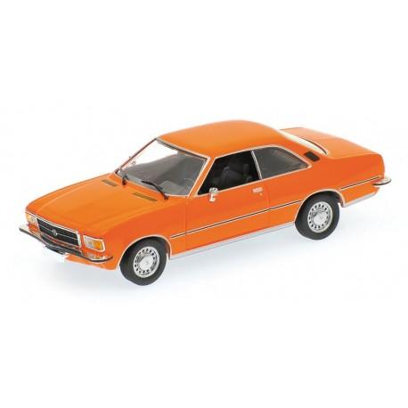 Opel Rekord D 1975 Orange Minichamps 400044024