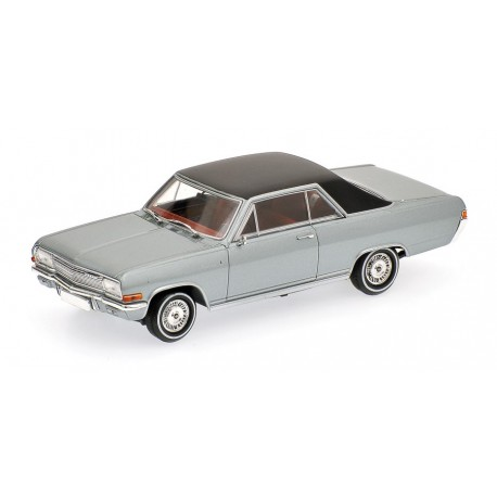 Opel Diplomat V8 Coupe 1965 Silver Minichamps 400048020