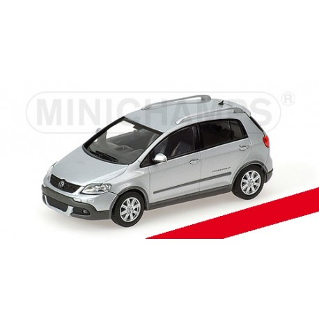 Volkswagen Cross Golf 2006 Silver Minichamps 400054370