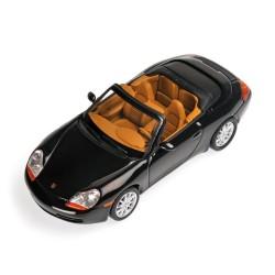 Porsche 911 996 Cabriolet 1998 Black Metallic Minichamps 400061090