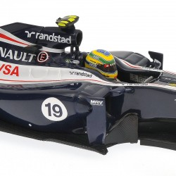 Williams Renault FW34 F1 2012 Bruno Senna Minichamps 410120019