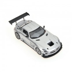 Mercedes Benz SLS AMG GT3 Street Version 2011 Silver Minichamps 410113202