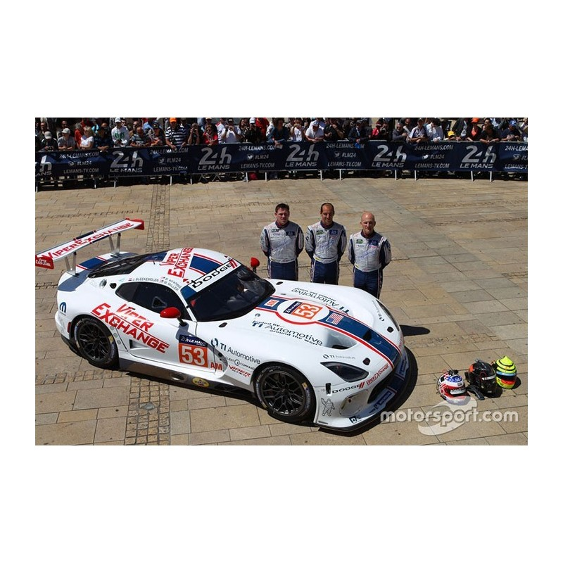 srt viper gts r 53 24 heures du mans 2015 spark 18s201 miniatures minichamps. Black Bedroom Furniture Sets. Home Design Ideas
