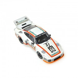 Porsche 935/77 Vaillant 51 DRM Zolder 1977 Bob Wolleck Minichamps 400776351
