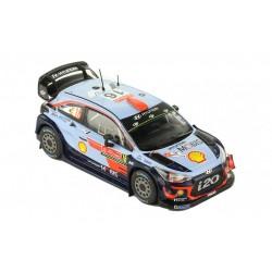 Hyundai i20 WRC 16 Rallye du Portugal 2018 Sordo Del Barrio IXO RAM677