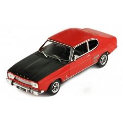 Ford Capri MKI 1700 GT Red and Black 1970 IXO CLC258