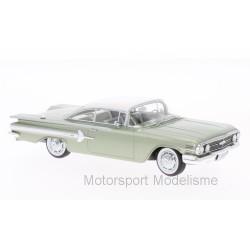 Chevrolet Impala sport Coupe 1960 Metallic-Light Green and White NEO NEO46919