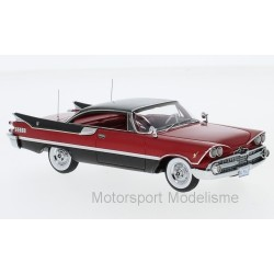 Dodge customs Royal Lancer Coupe 1959 Red and Black NEO NEO49563