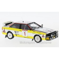 Audi Quattro 1 Safari Rally 1984 Mikkola Hertz Trofeu TRO1613