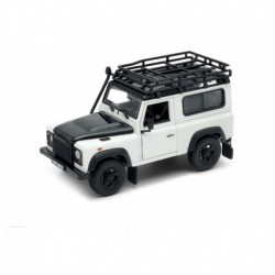 Land Rover Defender RoofRack Silver Welly WEL22498SPsilver