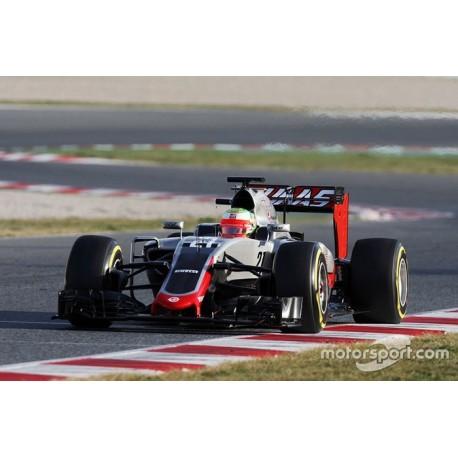 Haas Ferrari VF-16 F1 2016 Esteban Gutierrez Spark S5016
