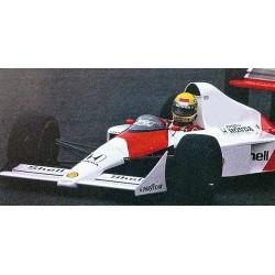 McLaren Honda MP4/4B Test Car F1 1988 Ayrton Senna Minichamps 547884399