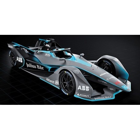 Formula E Showcar Season 5 2019 Team Minichamps 114180000