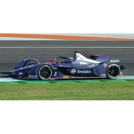 Envision Virgin Racing 2 Formula E Season 5 2019 Sam Bird Minichamps 114180002