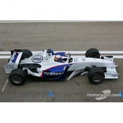 Sauber BMW C24B F1 Test Valencia 2006 Alessandro Zanardi Minichamps 100060904