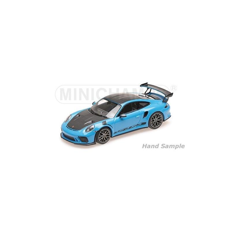 2019 Porsche 911 Gt3 Rs: Porsche 911 991.2 GT3 RS 2019 Blue With Weissach Package