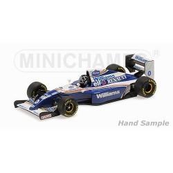 Williams Renault FW16 F1 Belgique 1994 Damon Hill Minichamps 435940100