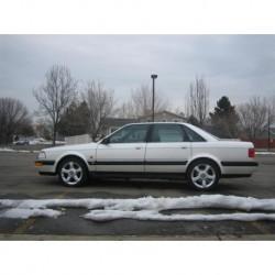 Audi V8 1990 Grey Metallic Maxichamps 940016001