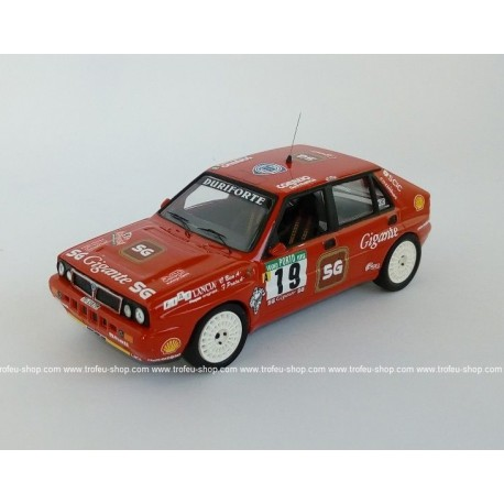 Lancia Delta Integrale 16V 19 5ème Rallye du Portugal 1990 Bica Prata Trofeu RRAL63