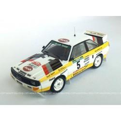 Audi Sport Quattro 5 Rallye du Portugal 1985 Roehrl Geistdoefer Trofeu TRORRAL70