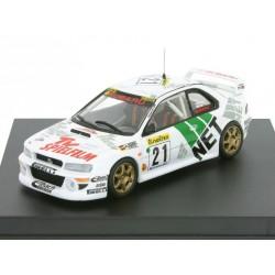 Subaru Impreza 21 Rallye Monte Carlo 1998 Kremer Wicha Trofeu T1106