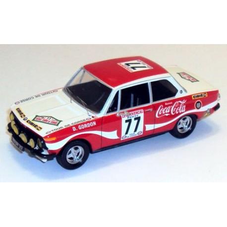 BMW 2002 TI 77 Tour de Corse 1974 Gordon Gordon Trofeu T1727